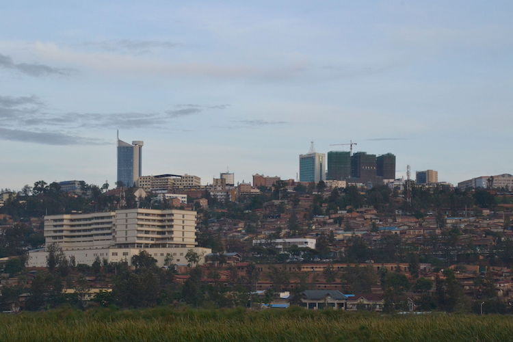 Photo: Downtown Kigali, Rwanda in October 2012. | Credit: Wikimedia Commons
