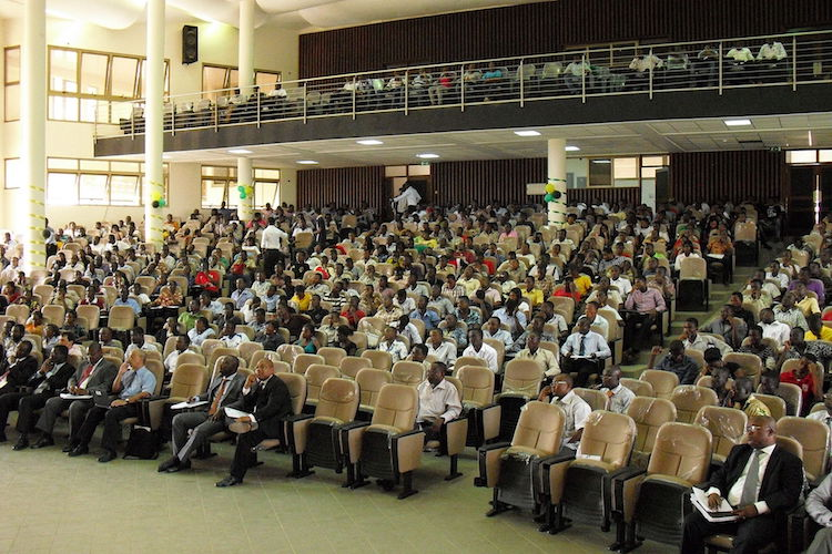Photo: College of Engineering, KNUST auditorium. Credit: Wikimedia Commons.