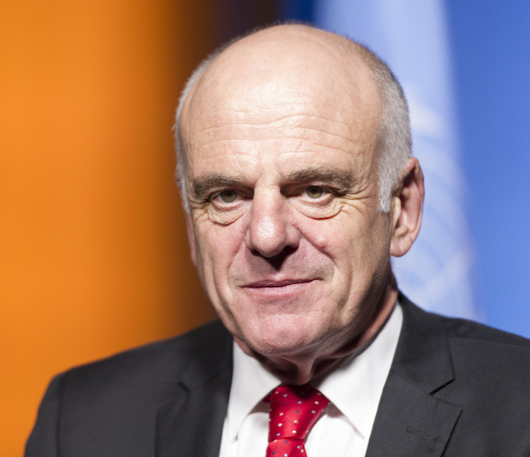 Photo: David Nabarro. Credit: Africa Renewal
