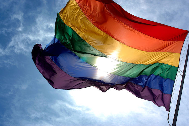 Image: LGBT pride flag. Credit: Wikimedia Commons