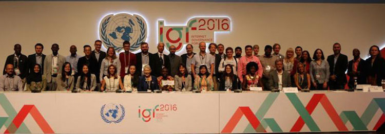 Photo: Participants at the 11th annual United Nations Internet Governance Forum in Jalisco, Mexico. Credit: IGF