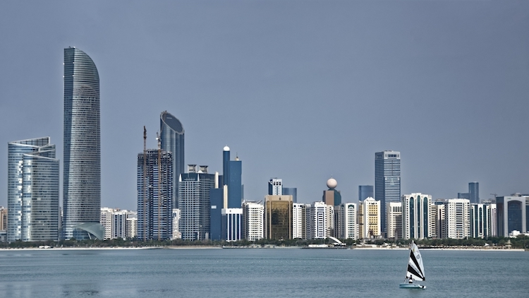 Photo: Skyline of Abu Dhabi, UAE, which will host 18th session of UNIDO's General Conference in November 2019.