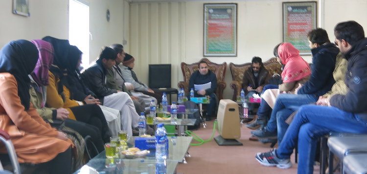 Photo: Community leaders in Afghanistan strategize human rights. Credit: UNAMA