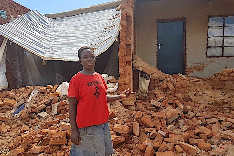 Photo: Cyclone Idai has impacted the lives and livelihoods of almost three million people across Mozambique, Zimbabwe and Malawi. Credit: UNDP Zimbabwe