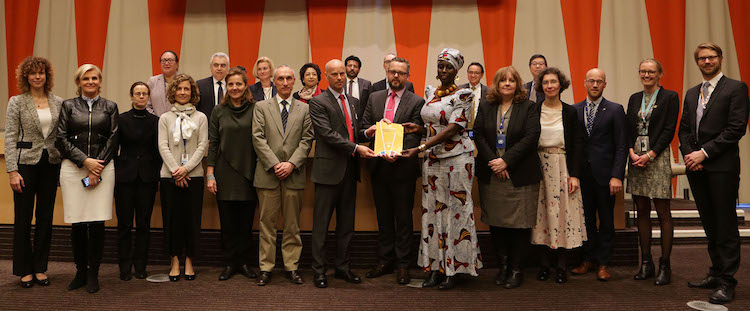 Photo: Launch of new publication providing tools for achieving sustainable energy for all. Credit: UN DESA