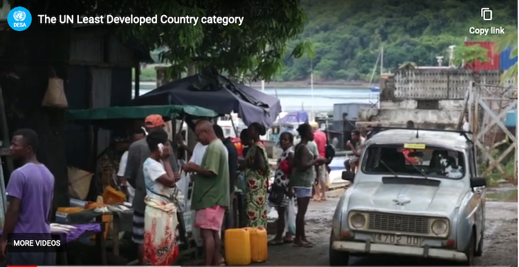 Photo: Screenshot UN Video 'Least Developed Countries'. Credit: UN