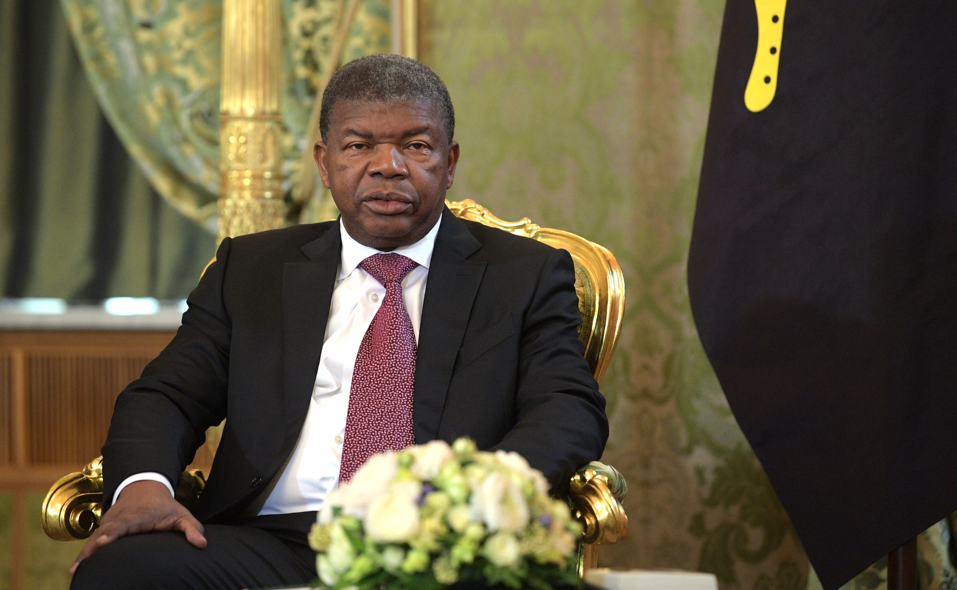 Photo: President of Angola Joao Lourenco.