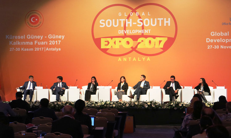 Photo: Experts discuss Good Practices of South-South Cooperation for Implementation of the SDGs: Development through Transformation Credit: UNOSSC