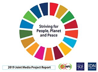 Striving for People Planet and Peace 2019
