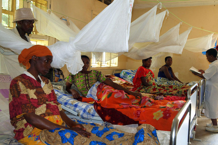 Photo: A UNFPA-supported health centre 400 kilometers southwest of Uganda's capital Kampala, includes a ward where women in their final stages of pregnancy can remain comfortably and avoid arduous travel once labour begins. Photo: UNFPA/Omar Gharzeddine
