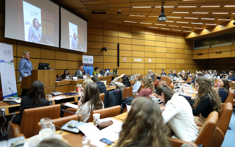 Photo: A general view of the Vienna Conference Session on Empowering Female Leaders: Systems and strategies for ensuring equal opportunities for women regarding leadership at all levels of decision-making on January 10. Credit: Robert Bosch AG/APA-Fotoservice/Schedl